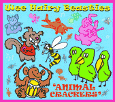 Wee Hairy Beasties: Animal Crackers