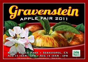 Gravenstein Apple Fair poster