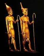 Statues of King Tut