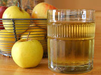 Apple juice to help with constipation