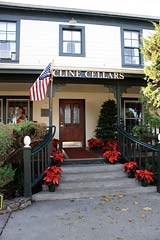 Cline Cellars tasting room in Sonoma