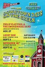 Downtown Days on the Green poster