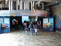 Splash Zone entrance