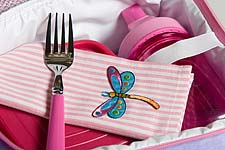 Fabkins cloth napkins for kids