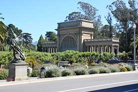 The Golden Gate Park band shell