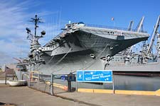 The USS Hornet Museum in Alameda, California
