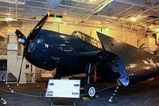 TBM Avenger on board USS Hornet
