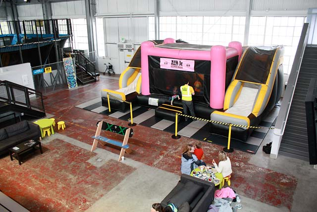 ... House Of Air Junior Air Bounce House