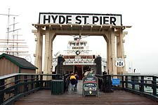 Hyde Stree Pier and Eureka