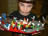 LEGO creation at Play-Well TEKnologies