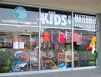 Marin Kids and Maternity Consigment storefront in San Rafael