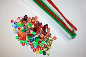 Bead ornament supplies
