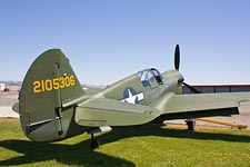 Curtiss P-40N at Sonoma Valley Airport