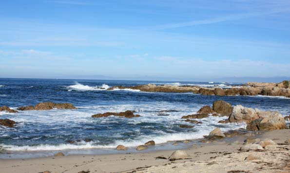 Pacific Grove Asilomar Beach