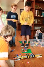 Play-Well TEKnologies LEGO birthday party
