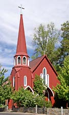 Sonora's 1860 Red Church