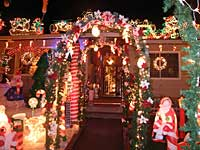 The Rombeiro's Christmas House in Novato