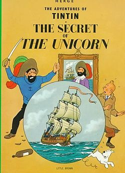 Secret of the Unicorn book cover