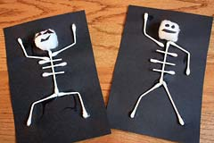 Skeleton craft project