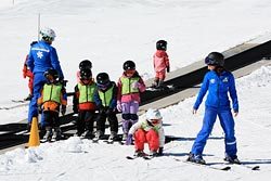 Group ski lesson at Northstar California