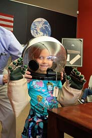 Hands-on fun at the Space Station space museum in Novato