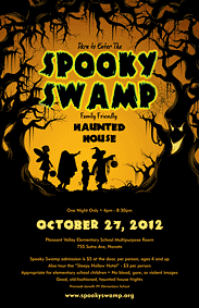 Spooky Swamp at Pleasant Valley Elementary School