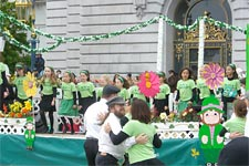 St. Patrick's Day Parade in San Francisco