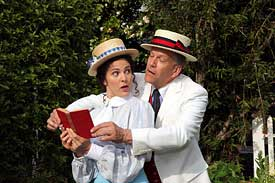 Suzan Zelinsky in the Music Man at the Mountain Play