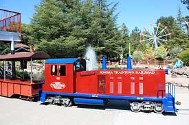 Sonoma TrainTown locomotive