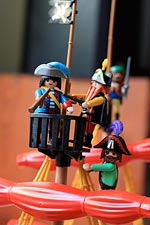 Playmobil toys are one of the things you'll find at local Marin toy stores.
