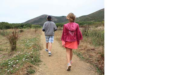 Fall hikes for families in Marin