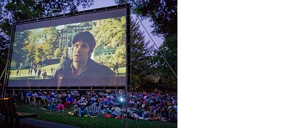 Film Night in the Park Marin