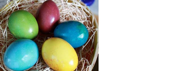 natural colored egg dye