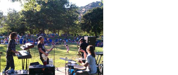 Marin Summer Concerts in the Park