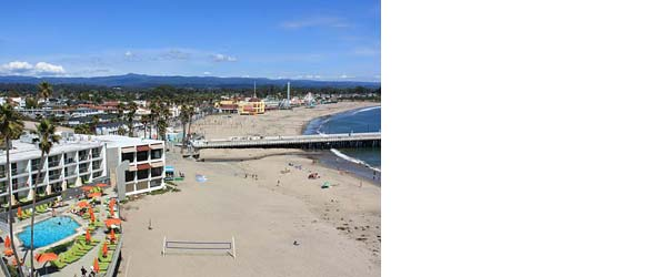 Santa Cruz Dream Inn and Beach Boardwalk