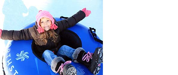 snow play tubing california