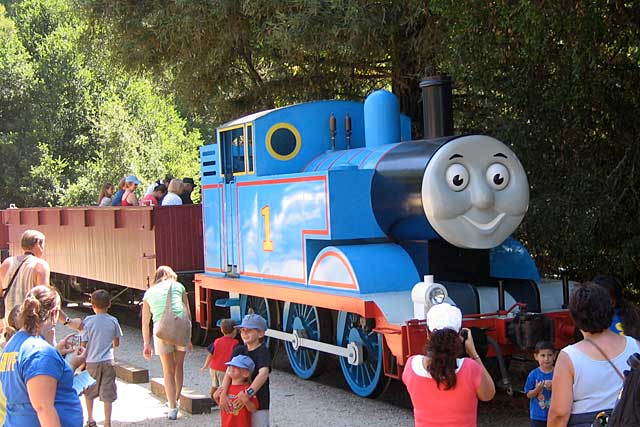 Day Out With Thomas at Roaring Camp Railroads.