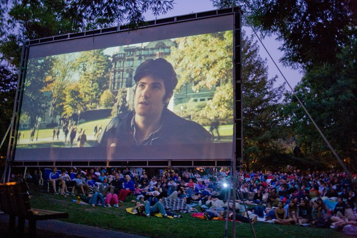 Film Night in the Park Marin County Summer
