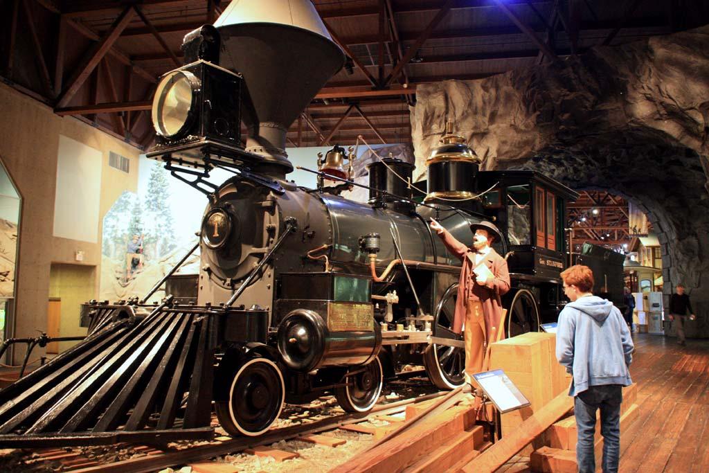 Family Day Trip To Sacramento S California State Railroad