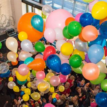 New Year's Eve Balloon Drop