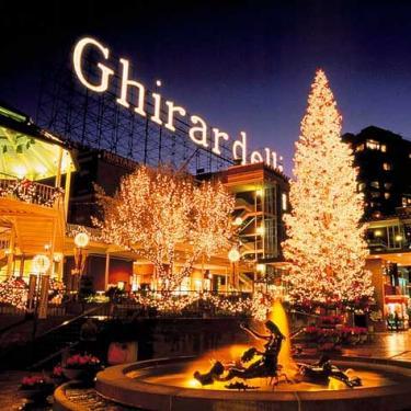 Ghirardelli Square Tree Lighting