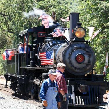 Locomotive No. 3 Railtown 1897 Jamestown Gold Country