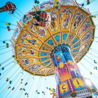 Sonoma-Marin Fair carnival ride