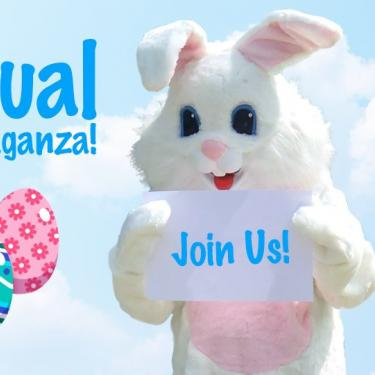 Virtual Eggstravaganza Mill Valley Easter Bunny
