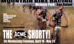 ACME Shorty kids mountain bike race Marin San Rafael