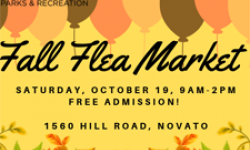 Fall Flea Market–Novato