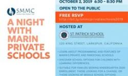 SMMC: A Night with Marin Private Schools