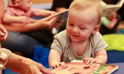 Baby Storytime at South Novato Library