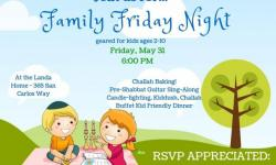 Family Fun Night at Chabad Jewish Center Novato