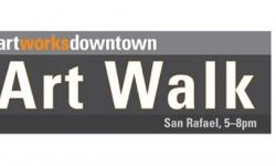 2nd Friday Art Walk at Artworks Downtown, San Rafael 5-8pm